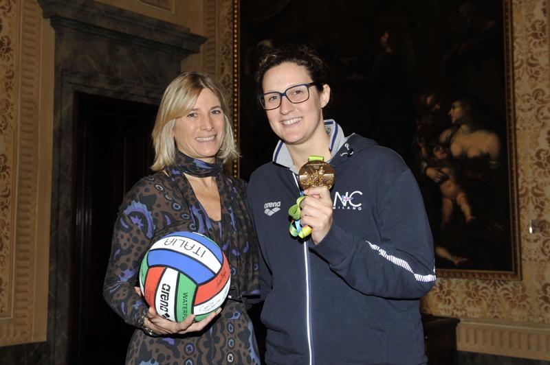 E' la prima squadra milanese nell'A1 di pallanuoto femminile