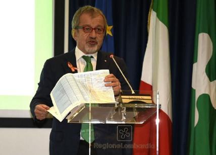 Lombardia l'annuncio di Maroni