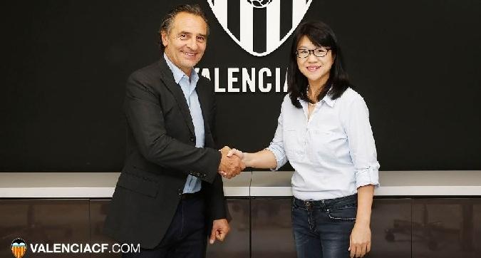 Prandelli è l'allenatore del Valencia: contratto al 2018