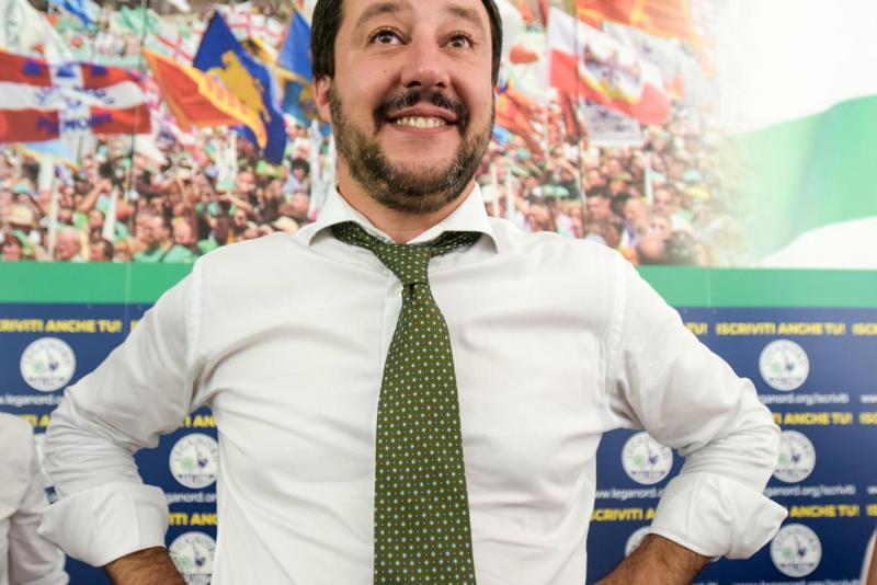 """Salvino non va al Forum Ambrosetti di Cernobbio: """"Certo che non vengo, mi sembra il concerto sul Titanic""""."""