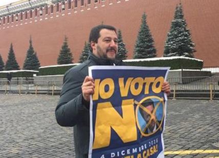Salvini a Mosca: anche Lenin voterebbe no al referendum