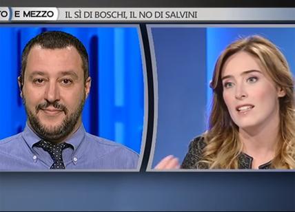 Referendum, battibecco social tra il ministro Boschi e Matteo Salvini