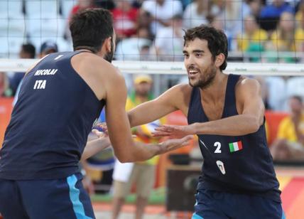 Beach volley: Lupo-Nicolai in finale (storico oro o argento)