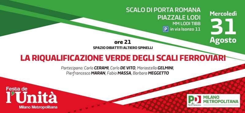 Parteciperanno Carlo Cerami, Carlo De Vito, Mariastella Gelmini, Pierfrancesco Maran, Fabio Massa, Barbara Meggetto