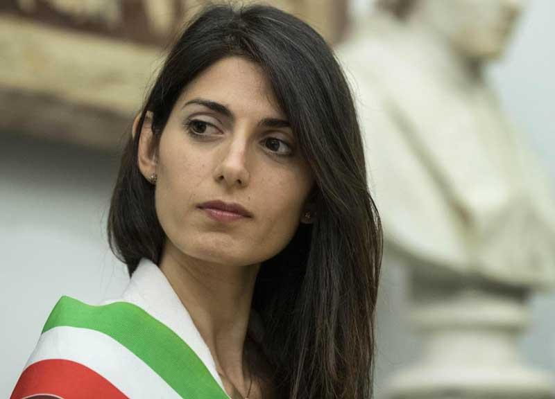 La Raggi, sindaco di Roma, sul tema delle olimpiadi del 2024 è ondivaga