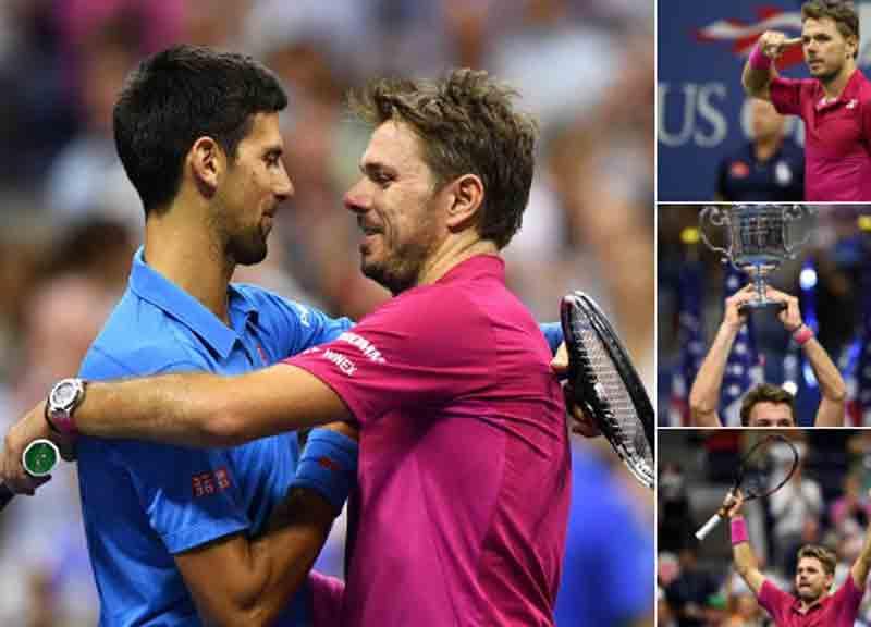 Stan Wawrinka vince il suo primo Us Open distruggendo in finale un Djokovic in cattive condizioni di forma