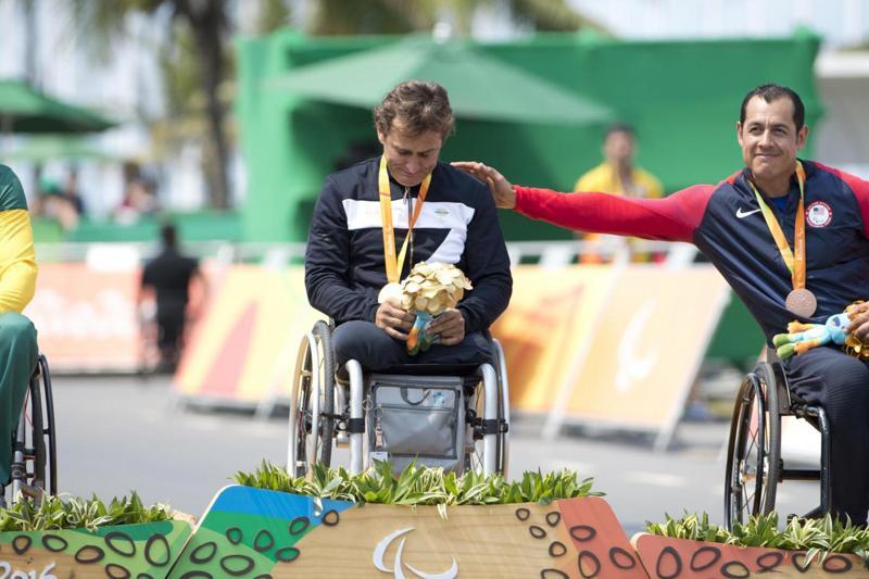 Paralimpiadi 2016: ciclismo, argento a Zanardi e Mazzone
