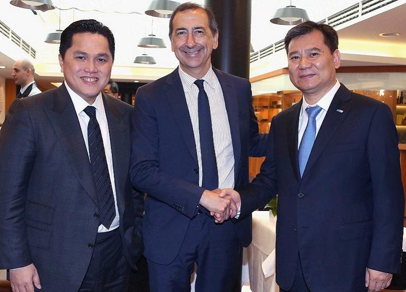 Incontro in Municipio tra il sindaco Beppe Sala e la nuova dirigenza dell'Inter. Gli investimenti di Suning per lo stadio e in città