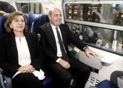 Due miliardi per i treni del Lazio: patto Regione-Trenitalia