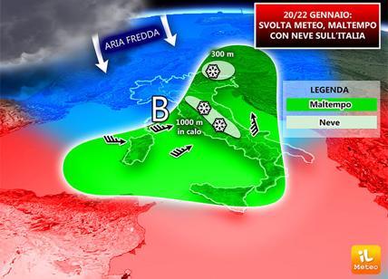 Il meteo di domani, 14 gennaio
