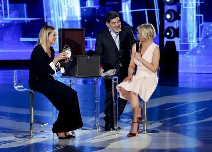 Diego Armando Maradona ospite di Maria De Filippi