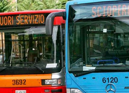 Sciopero trasporti, Cotral: adesione del 35% dei dipendenti dell'azienda