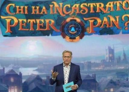 Ascolti tv, Auditel: Chi ha incastrato Peter Pan? Vince sul target commerciale
