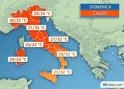 Meteo onda di calore in arrivo dal Nord Africa si sfiorano i 40 gradi