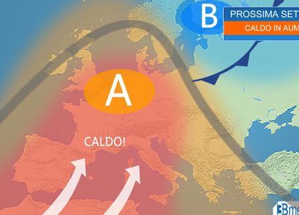 Previsioni meteo Campania: in arrivo vento forte e calo della temperature