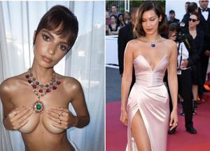 Emily Ratajkowski, topless a Cannes. E Bella Hadid senza slip. TUTTE LE FOTO