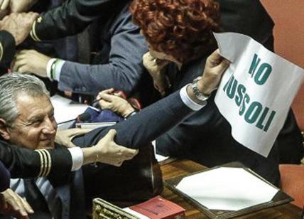 Bagarre al Senato, Fedeli in infermeria