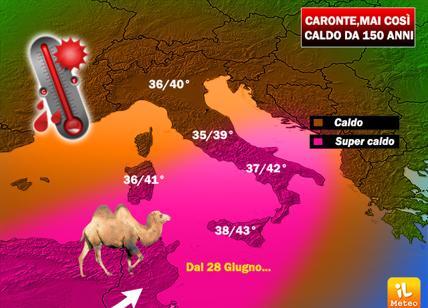 Afa, temporali a Milano. Temperature giù