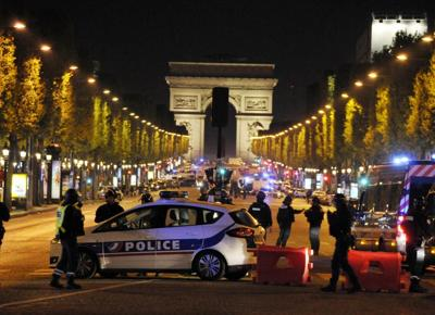 Champs Elysees attentato