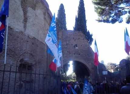 Roma. Sfratto sede Fdi, Meloni: