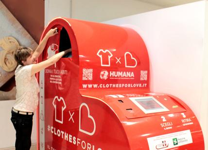 Clothes for Love, la raccolta di abiti usati diventa hi tech