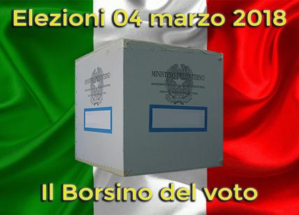 Elezioni 4 marzo, il borsino del voto. Partiti, chi sale e chi scende. I trend