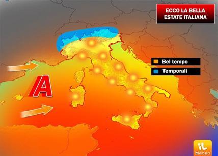 Meteo 7 Luglio: Italia nella morsa di caldo e afa