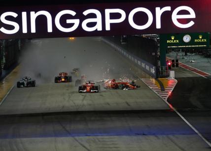 F1: Verstappen 'abbatte' le Ferrari