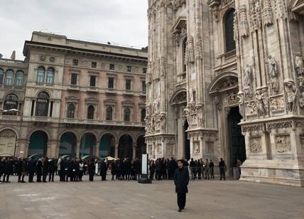 Da Renzi a Valentino, a Milano per l'omaggio a Franca Sozzani