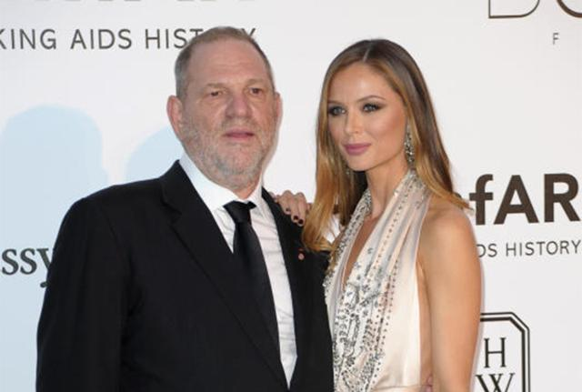 La moglie di Weinstein sotto choc