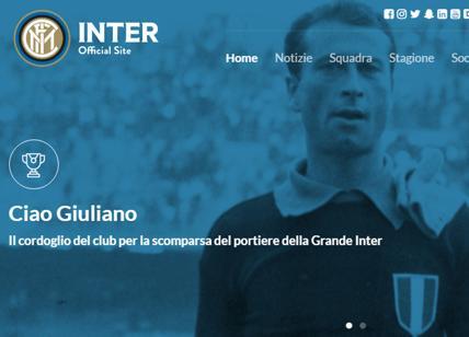 Morto Giuliano Sarti: fu portiere di Fiorentina, Inter e Juventus
