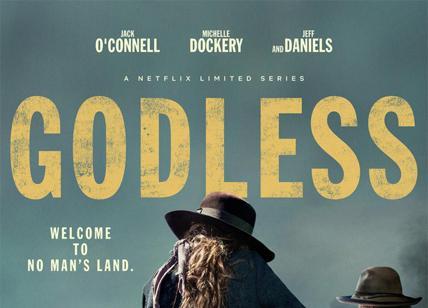 Godless: il teaser trailer della serie con Jeff Daniels e Michelle Dockery