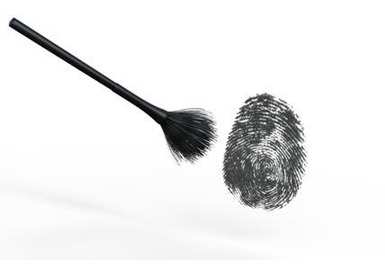 Crolla il mito delle impronte digitali
