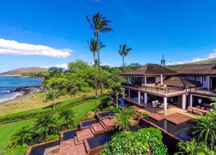 In vendita una casa di lusso a makena hawaii affaritaliani