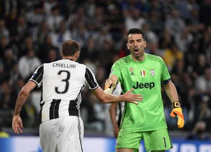 "Real-Juventus, Chiellini (""You pay"") rischio squalifica Uefa. Buffon in serie"