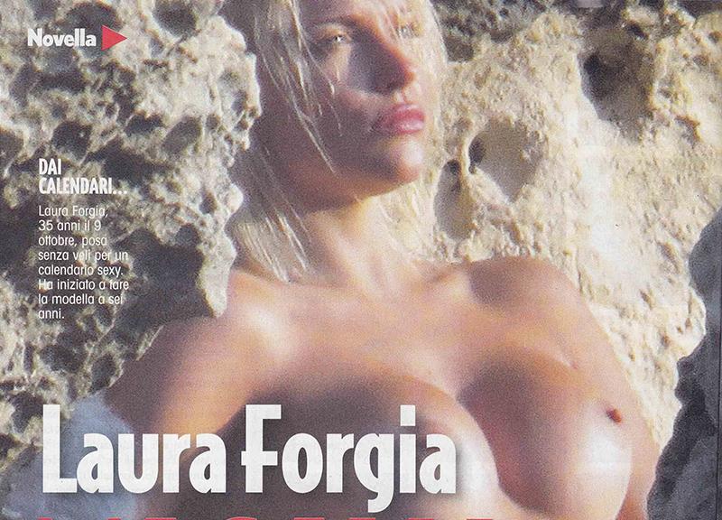 Laura Forgia Calendario.Laura Forgia Dagli Scatti Bollenti Alle Lacrime In Diretta