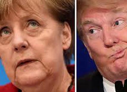 """Trump 'smaschera' la Germania: """"L'euro è un marco travestito"""""""