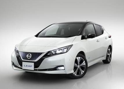 Nuova Nissan Leaf, al top tra le auto 100% elettriche