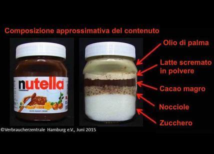 Bagno Nella Nutella.Nutella Foto Choc Mostra Gli Ingredienti Nel Barattolo Ferrero