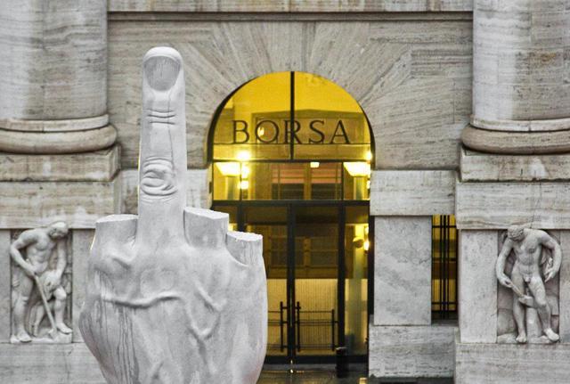 Borse europee positive, Milano cala ma non crolla