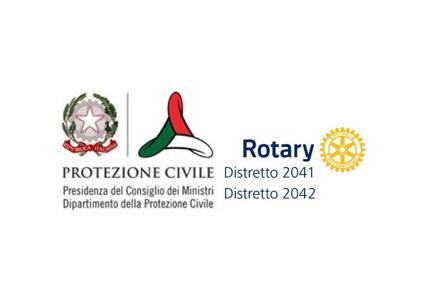 rotary e protezione civile firmano un importante accordo per la