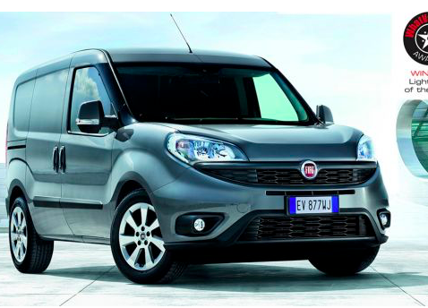 "Doblo Cargo è ""Light Van of the Year"" 2018"
