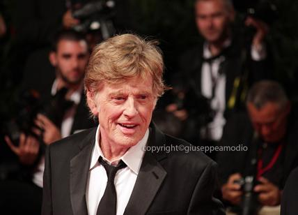 ROBERT REDFORD at the Venice Film Festival for 'Our souls in the night'