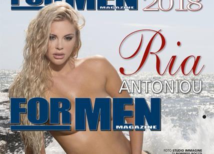 For Men Calendario.Ria Antoniou 12 Scatti Sexy La Nuova Regina Dei Calendari
