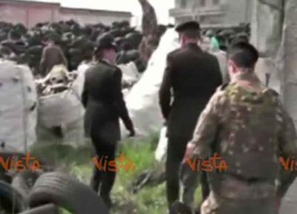 Blitz nella Terra dei Fuochi, sequestrata discarica abusiva a Villa Literno