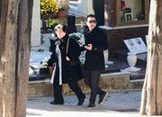 Totò Riina, le foto dei famigliari al funerale