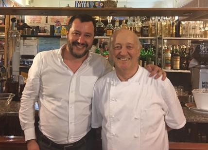 Salvini a cena a Lodi dal ristoratore omicida