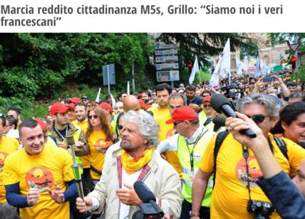 La Chiesa frena Grillo Nessun politico può dirsi francescano