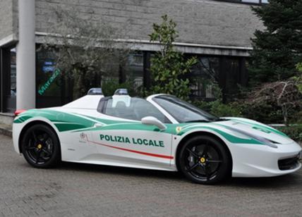 Mafia: Ferrari confiscata assegnata a Polizia locale Milano