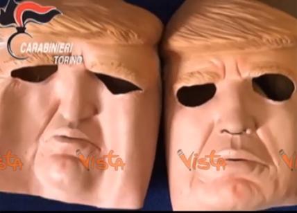 Assalti sportelli bancomat, presi due fratelli mascherati da Trump